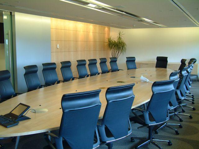 Sala de reuniones dónde generar seguridad psicológica