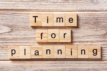 Hay que planificar el tiempo, no el resultado